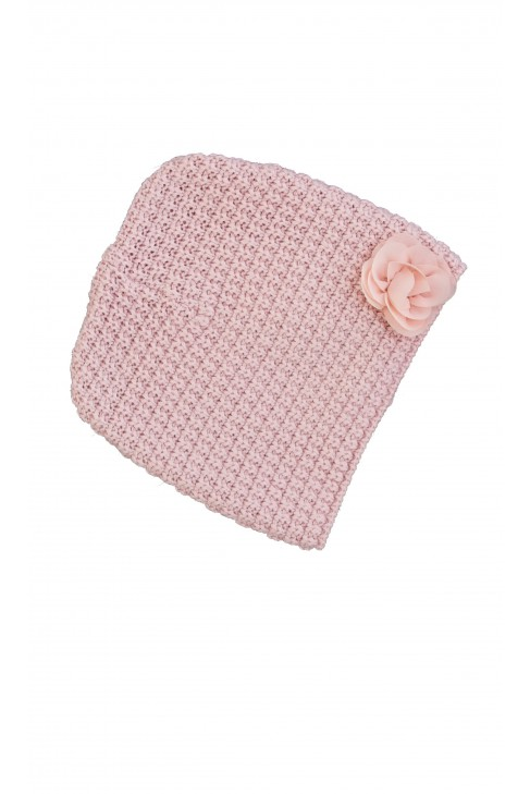 Różowa czapka Tartine et Chocolat
