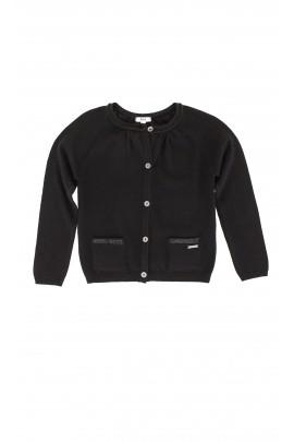 Czarny sweter, Hugo Boss