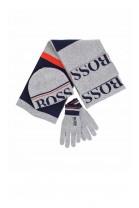 Grey gloves, Hugo Boss