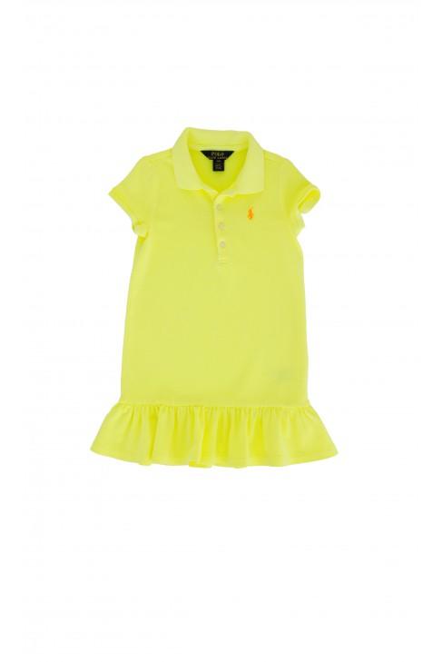 Celadon frilled dress, Polo Ralph Lauren
