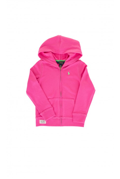 Pink hooded sweatshirt, Polo Ralph Lauren