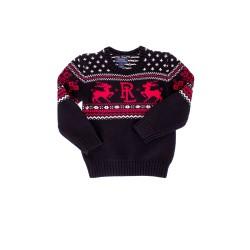 Black boy's Christmas sweater, Polo Ralph Lauren