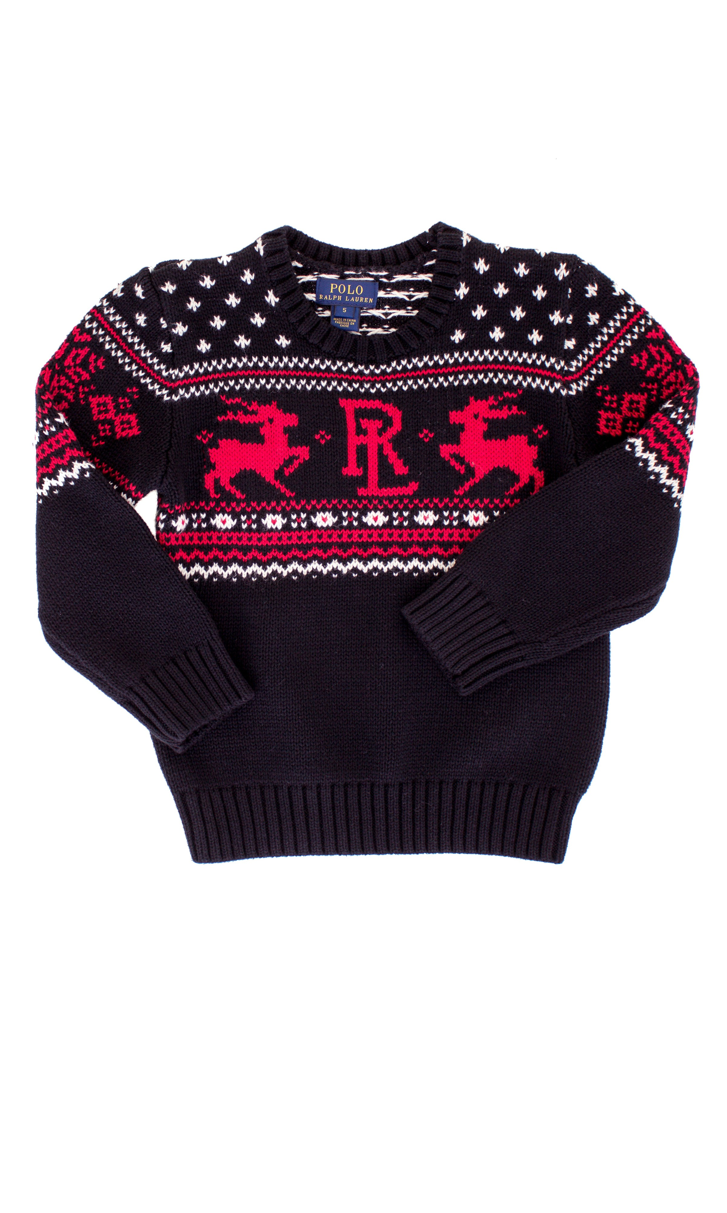 polo ralph lauren christmas sweater
