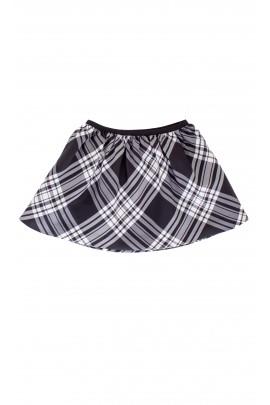 Spódnica w czarno-białą kratę Polo Ralph Lauren