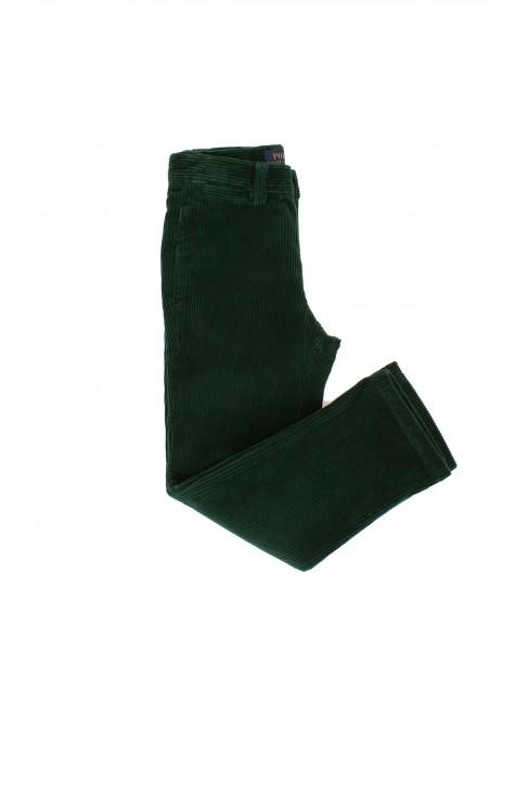 Green velour boy's trousers, Polo Ralph Lauren