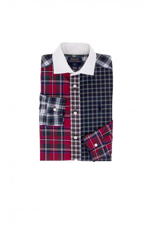 Koszula w świąteczną kratkę Polo Ralph Lauren