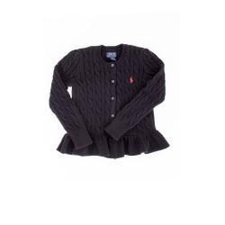 Black frilled swetaer, Polo Ralph Lauren