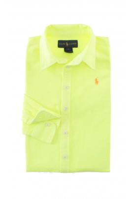 Koszula, cytrynowy neonowy kolor, Ralph Lauren