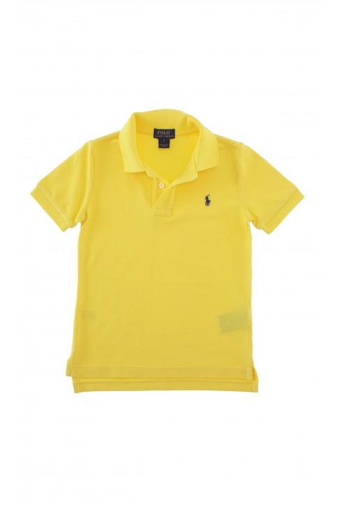 Yellow boy's polo shirt, Polo Ralph Lauren