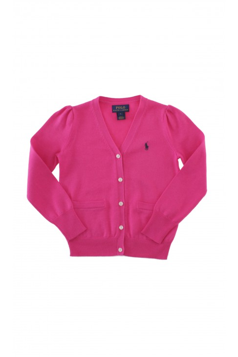 Pink girl's cardigan, Polo Ralph Lauren