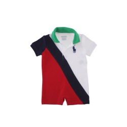 White-and-red boy's rompers, Ralph Lauren