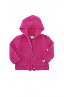Sweter różowy z kapturem, Ralph Lauren
