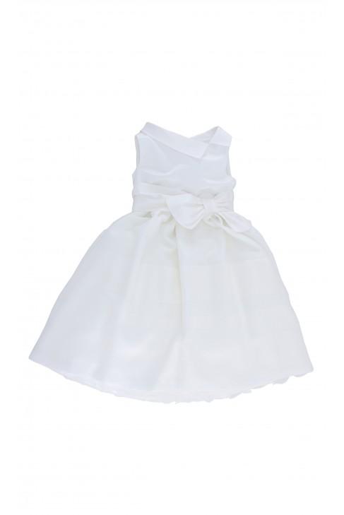 Sukienka wizytowa écru, Colorichiari
