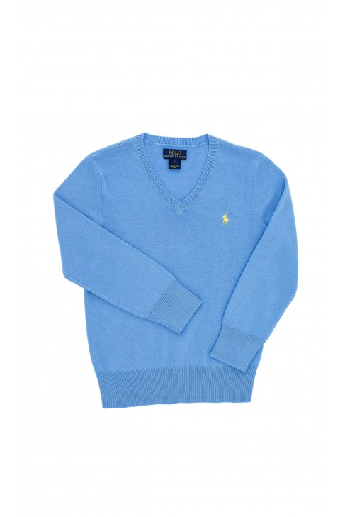 Niebieski sweter chłopięcy, Polo Raph Lauren